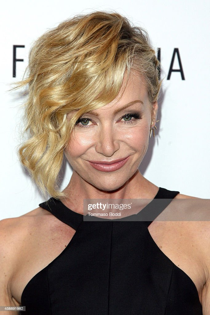 Actress Portia de Rossi attends the Paley Center for Media's annual Los Angeles gala, celebrating television's impact on LGBT equality held at the Skirball Cultural Center on November 12, 2014 in Los Angeles, California.