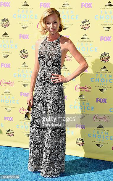Actress Portia de Rossi attends the Teen Choice Awards 2015 at the USC Galen Center on August 16 2015 in Los Angeles California