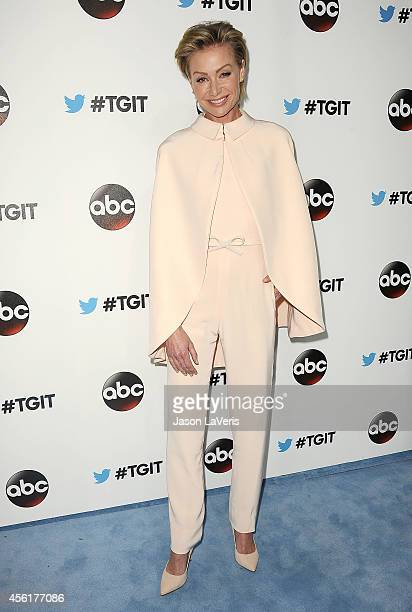 Actress Portia de Rossi attends the #TGIT premiere event hosted by Twitter at Palihouse Holloway on September 20 2014 in West Hollywood California