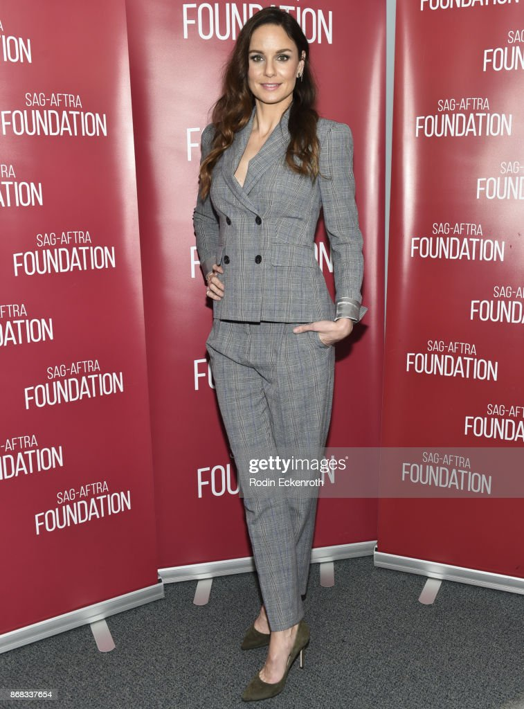 Actress poses for portrait at SAG-AFTRA Foundation Conversations screening of 'The Long Road Home' at SAG-AFTRA Foundation Screening Room on October 30, 2017 in Los Angeles, California.
