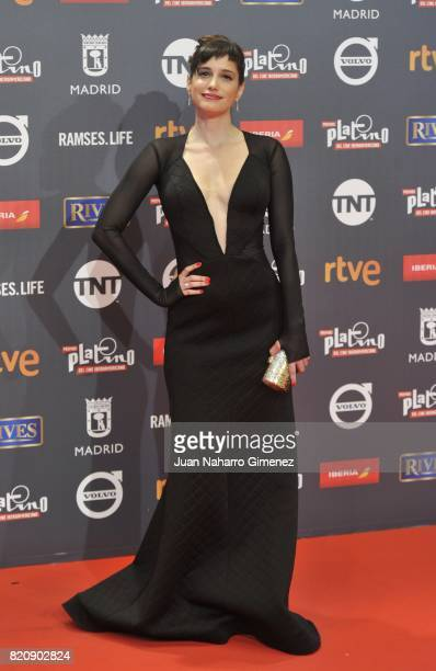 Actress Prakriti Maduro attends the 'Platino Awards 2017' photocall at La Caja Magica on July 22 2017 in Madrid Spain