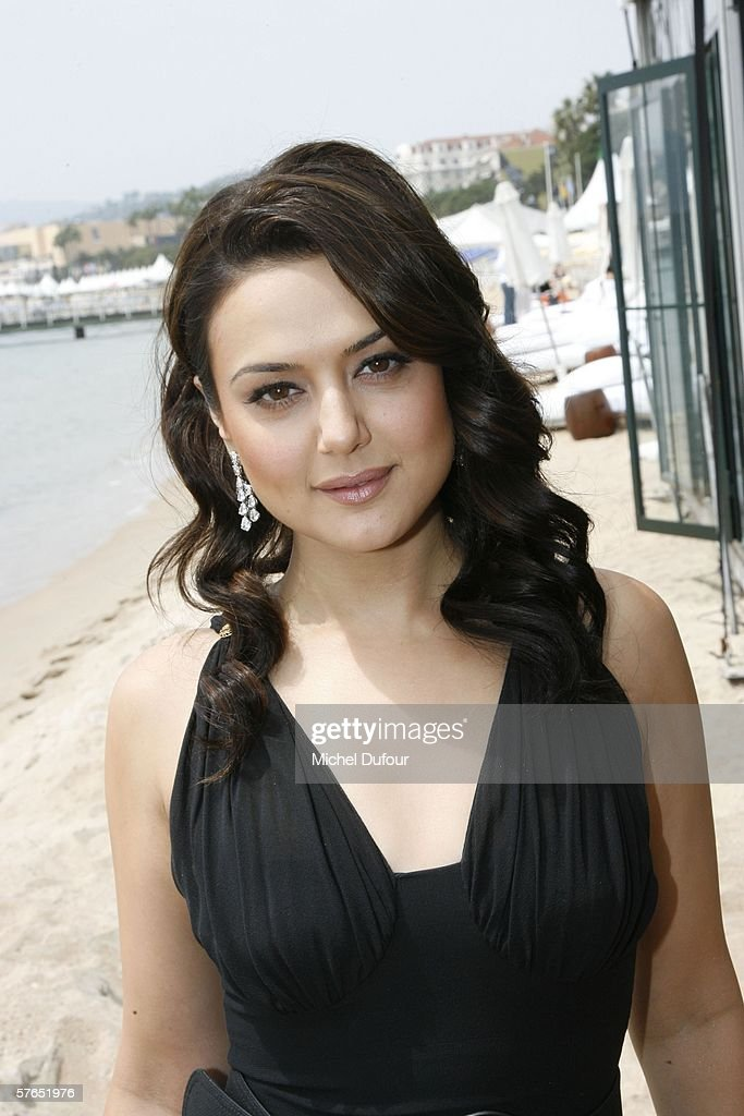 Actress Preity Zinta attends a Chopard party at Nikki Beach during the 59th International Cannes Film Festival May 18 2006 in Cannes France