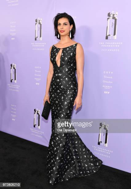 Actress Presenter Morena Baccarin attends 2018 Fragrance Foundation Awards at Alice Tully Hall at Lincoln Center on June 12 2018 in New York City