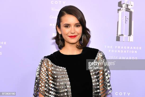 Actress, Presenter Nina Dobrev attends 2018 Fragrance Foundation Awards at Alice Tully Hall at Lincoln Center on June 12, 2018 in New York City.