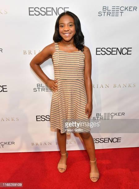 Actress Priah Ferguson attends Brian Banks Atlanta Screening at SCADshow on July 30 2019 in Atlanta Georgia