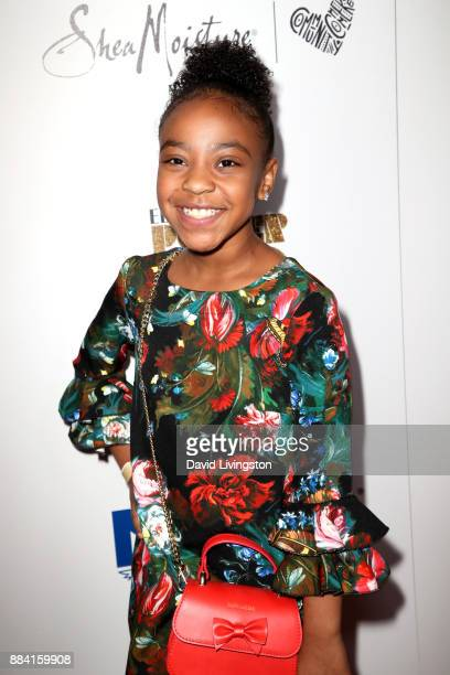 Actress Priah Ferguson attends Ebony Magazine's Ebony's Power 100 Gala at The Beverly Hilton Hotel on December 1 2017 in Beverly Hills California