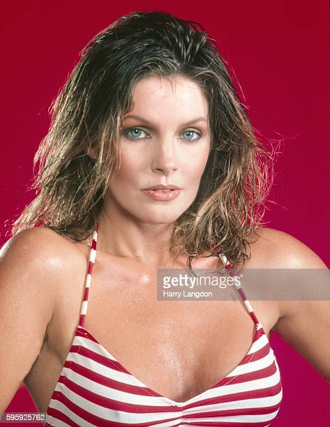 Actress Pricilla Presley poses for a portrait in 1980 in Los Angeles California