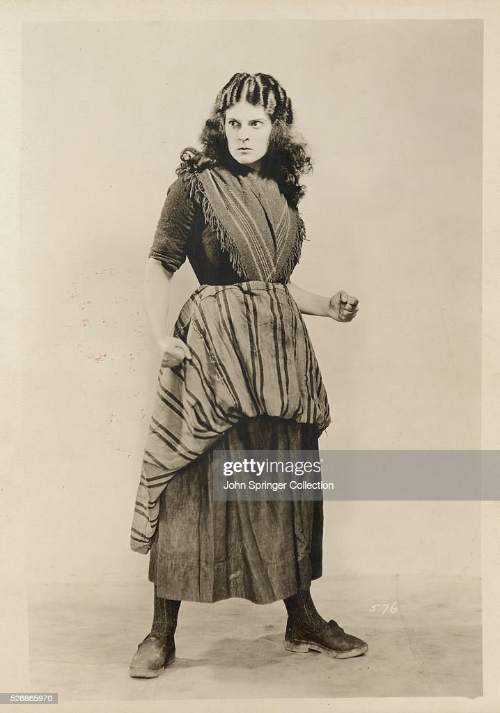 Actress Priscilla Dean in Costume : News Photo