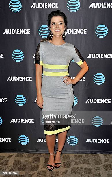 Actress Priscilla Faia attends the ATT Audience Network TCA Event at The Beverly Hilton Hotel on August 5 2016 in Beverly Hills California