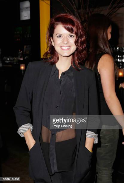 Actress Priscilla Faia attends the 'Backcountry' world premiere party during the 2014 Toronto International Film Festival at Brassaii on September 8...