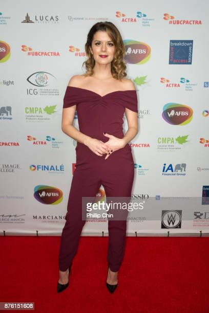 Actress Priscilla Fala attends the 6th Annual UBCP/ACTRA Awards at the Vancouver Playhouse on November 18 2017 in Vancouver Canada