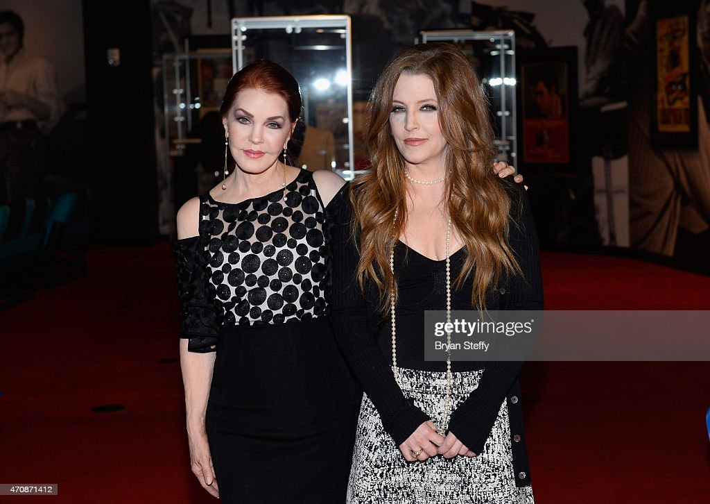 """Priscilla Presley And Lisa Marie Presley Debut """"Graceland Presents ELVIS: The Exhibition - The Show - The Experience"""" At Westgate Las Vegas Resort & Casino"""