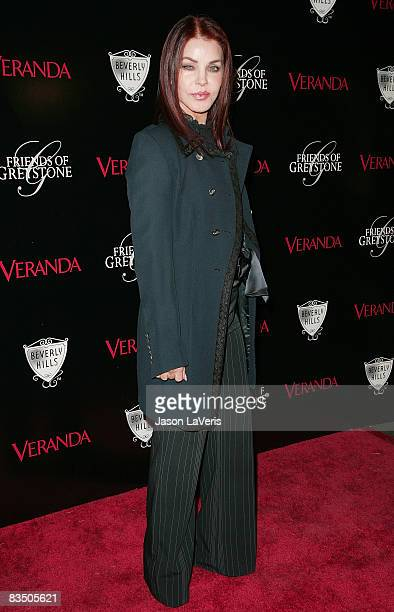 Actress Priscilla Presley attends The Great House grand opening at the Greystone Estate on October 30 2008 in Beverly Hills California