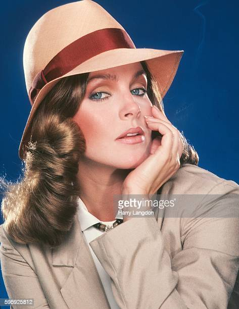 Actress Priscilla Presley poses for a portrait in 1980 in Los Angeles California