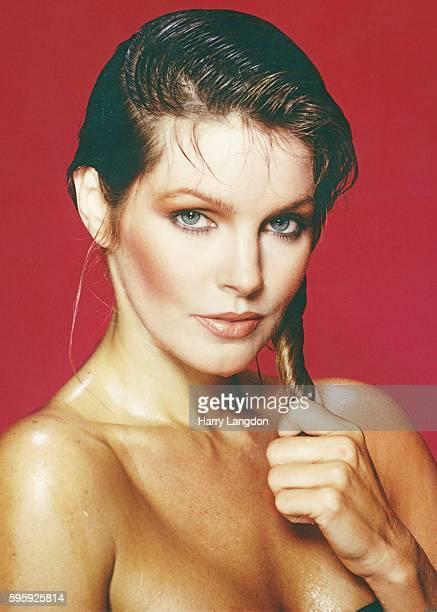 Actress Priscilla Presley poses for a portrait in 1980 in Los Angeles, California.