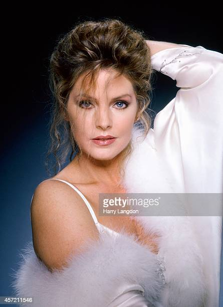 Actress Priscillla Presley poses for a portrait in 1981 in Los Angeles California