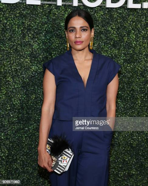 Actress Priyanka Bose attends the MAISONDEMODE Celebrates Sustainable Style By Honoring Suzy Amis Cameron Of Red Carpet Green Dress at Sunset Tower...