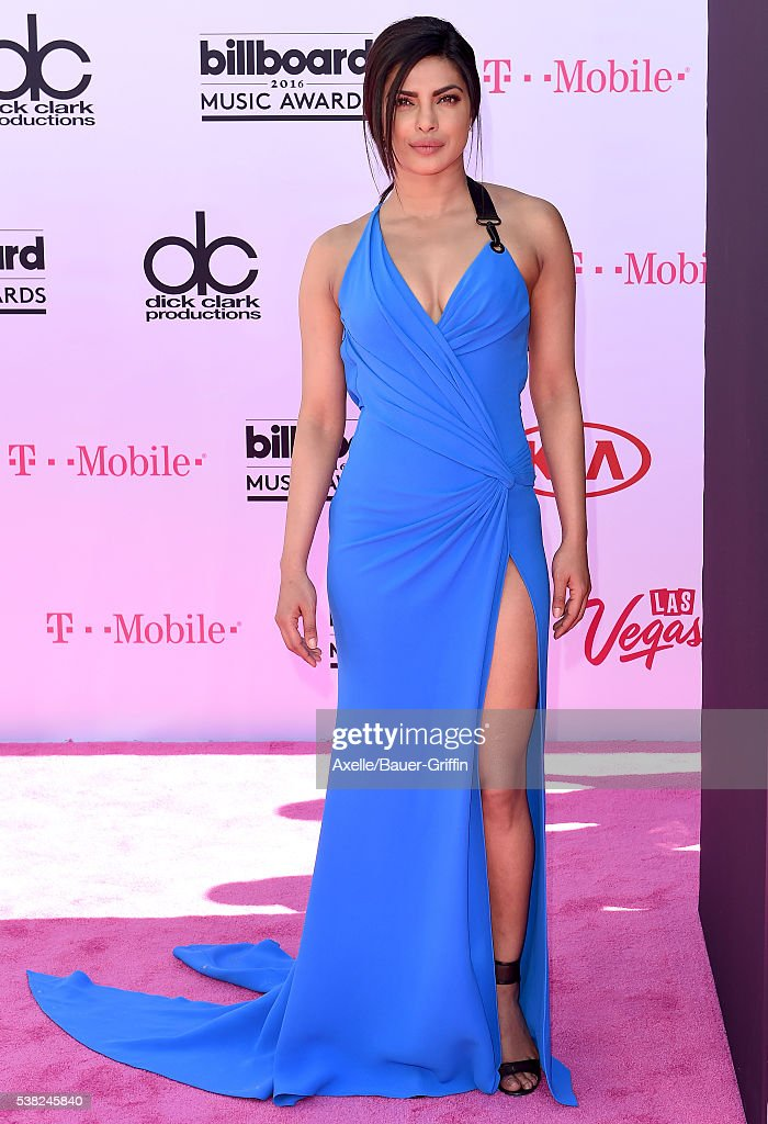 Actress Priyanka Chopra arrives at the 2016 Billboard Music Awards at T-Mobile Arena on May 22, 2016 in Las Vegas, Nevada.