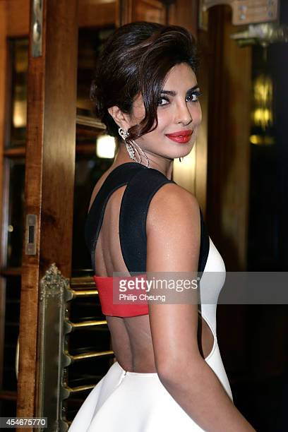 Actress Priyanka Chopra arrives at the premiere for 'Mary Kom' during the 2014 Toronto International Film Festival at The Elgin on September 4 2014...