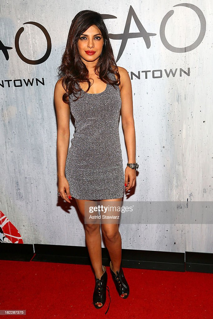 Actress Priyanka Chopra attends TAO Downtown Grand Opening on September 28, 2013 in New York City.