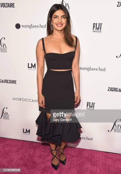 Actress Priyanka Chopra attends the Daily Front Row's 2018 Fashion Media Awards at Park Hyatt New York on September 6 2018 in New York City