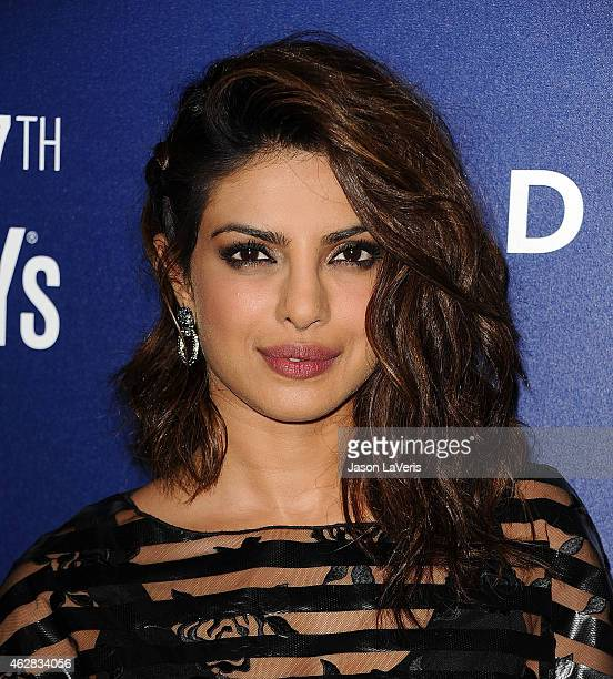 Actress Priyanka Chopra attends the Delta Air Lines toast to the 2015 GRAMMY weekend at Soho House on February 5 2015 in West Hollywood California