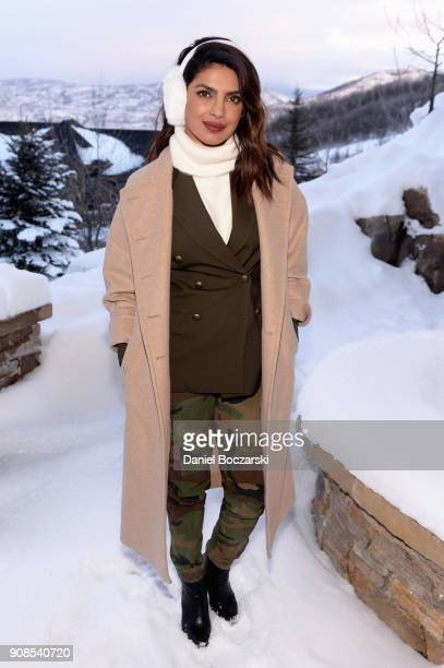 Actress Priyanka Chopra attends the MoviePass House Park City during Sundance 2018 on January 21 2018 in Park City Utah