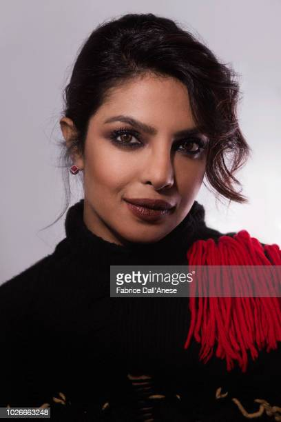 Actress Priyanka Chopra is photographed for Self Assignment on January 2018 in Park City Utah