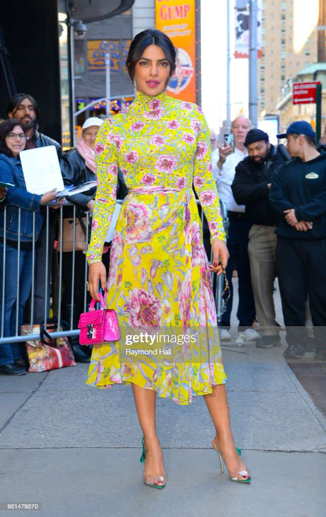 Celebrity Sightings in New York City - April 26, 2018