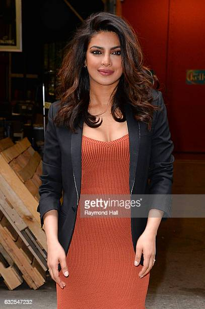 Actress Priyanka Chopra is seen walking in Soho on January 23 2017 in New York City