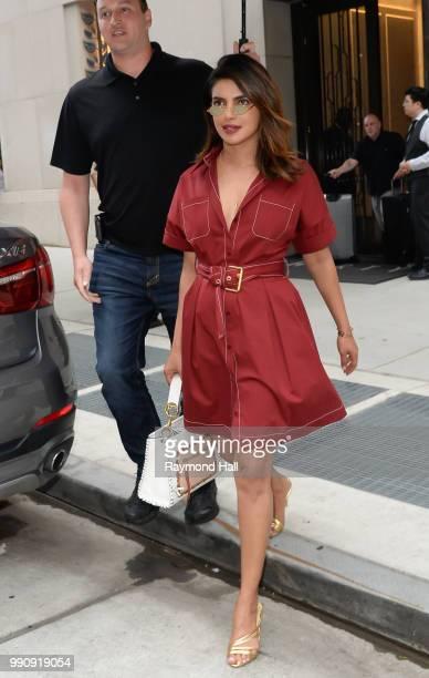 Actress Priyanka Chopra is seen walking in soho on July 3 2018 in New York City