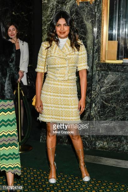 Actress Priyanka Chopra Jonas attends Burn This Opening Night at Hudson Theatre on April 15 2019 in New York City