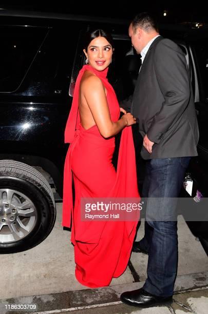 Actress Priyanka Chopra Jonas is seen on December 3, 2019 in New York City.
