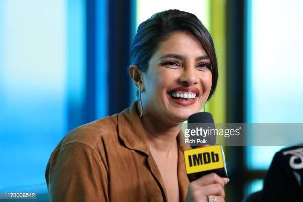 Actress Priyanka Chopra Jonas of 'The Sky Is Pink' attends The IMDb Studio Presented By Intuit QuickBooks at Toronto 2019 at Bisha Hotel Residences...