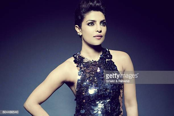 Actress Priyanka Chopra poses for a portrait at the 2016 People's Choice Awards at the Microsoft Theater on January 6 2016 in Los Angeles California