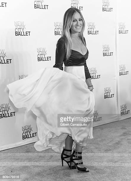 Actress producer and designer Sarah Jessica Parker attends the New York City Ballet 2016 Fall Gala at David H Koch Theater at Lincoln Center on...
