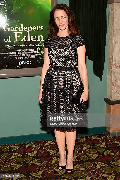 Actress Producer and Philanthropist Kristin Davis attends the Gardeners Of Eden Screening Benefiting The David Sheldrick Wildlife Trust at the Malco...