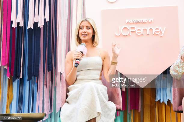 Actress Producer Ashley Tisdale during a panel discussion at the Create Cultivate Conference At The House Of Vans In Chicago On August 25 2018...