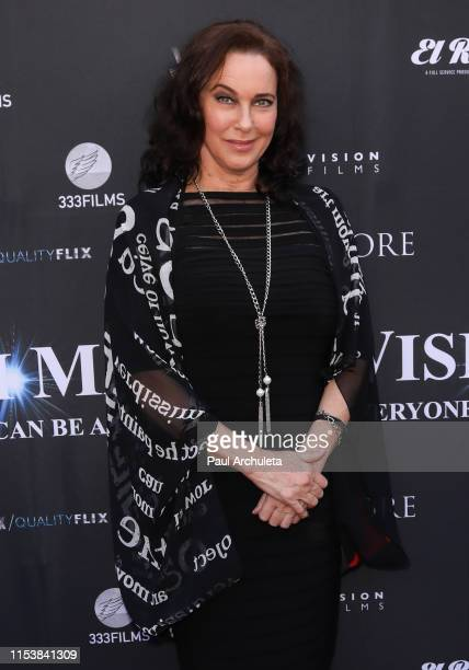 Actress / Producer Clarissa Burt attends the premiere of Mycinema's Wish Man at The Egyptian Theatre on June 04 2019 in Los Angeles California
