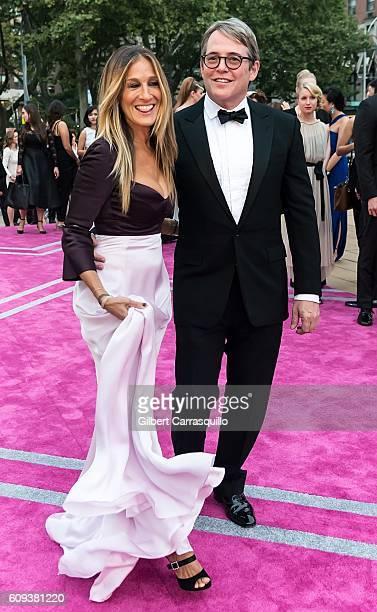 Actress, producer, designer, Sarah Jessica Parker and actor Matthew Broderick attend the New York City Ballet 2016 Fall Gala at David H. Koch Theater...