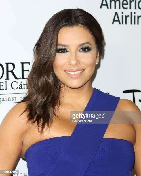 Actress / Producer Eva Longoria attends Padres Contra El Cancer's 17th Annual 'El Sueno De Esperanza' Celebration at TAO Hollywood on September 24...