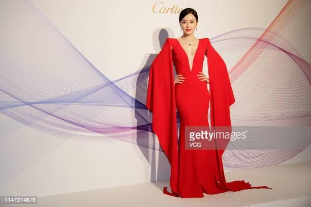 Actress Qin Lan attends Cartier Coloratura event on May 3, 2019 in Hong Kong, China.