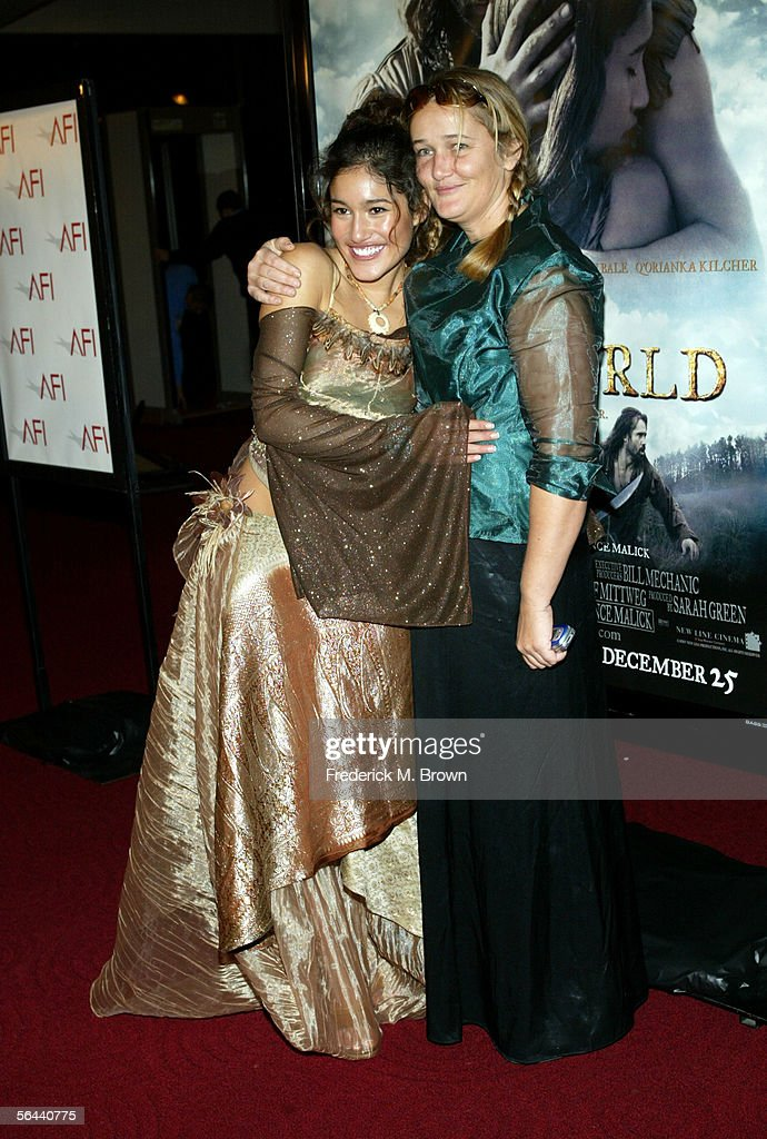 """New Line Cinema Premiere of  """"The New World"""" Presented By AFI - Arrivals : News Photo"""