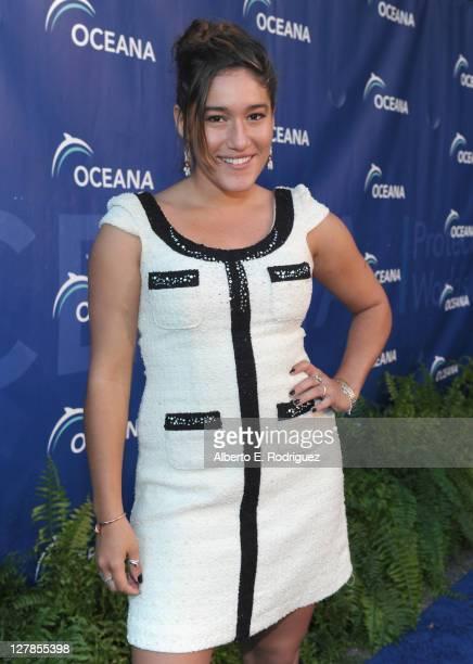 Actress Q'orianka Kilcher arrives to the 4th annual Oceana SeaChange summer party at Villa di Songhi on October 1 2011 in Laguna Beach California