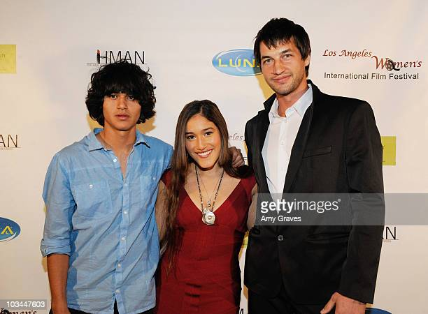 Actress Q'orianka Kilcher attends the Los Angeles Women's International Film Festival Opening Night Gala at Libertine on March 26 2010 in Los Angeles...