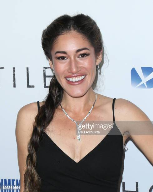 Actress Q'Orianka Kilcher attends the premiere of 'Hostiles' at the Samuel Goldwyn Theater on December 14 2017 in Beverly Hills California