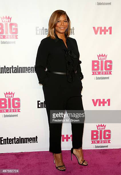 Actress Queen Latifa attends VH1 Big In 2015 With Entertainment Weekly Awards at Pacific Design Center on November 15 2015 in West Hollywood...