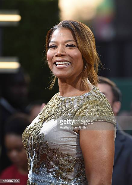 Actress Queen Latifah arrives at the 18th Annual Hollywood Film Awards at The Palladium on November 14 2014 in Hollywood California