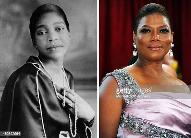 In this composite image a comparison has been made between Bessie Smith and actress Queen Latifah Actress Queen Latifah will reportedly play singer...