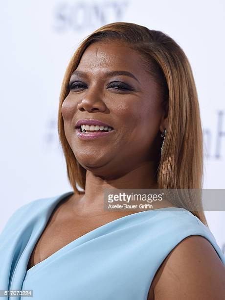 Actress Queen Latifah arrives at the premiere of Columbia Pictures' 'Miracles From Heaven' at ArcLight Hollywood on March 9 2016 in Hollywood...